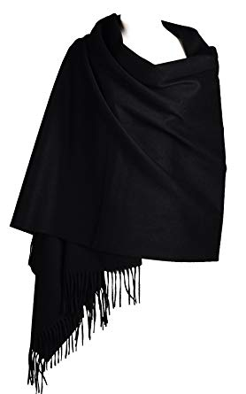Cashmere Wrap Shawl Stole for Women, Winter Extra Large(79in x 28in