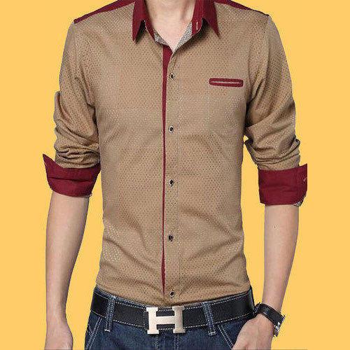 designer casual shirt mens designer casual shirts at rs 400 piece