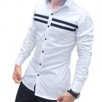 Casual shirts with various   fabrics for special events