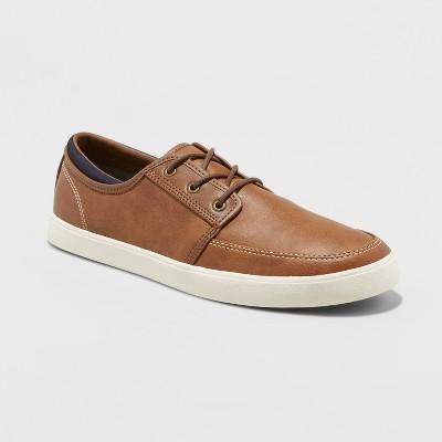 Men's Joel Moc Toe Casual Shoe - Goodfellow & Co™ Brown 13 : Target