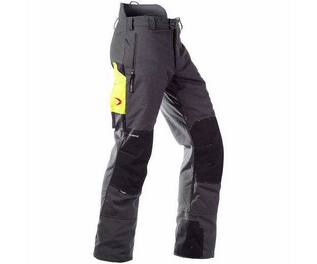 Pfanner Gladiator chainsaw trousers Type A (Grey) OLD STYLE u2013 FR