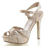 Add new style to your   personality with Champagne heels to look elegant