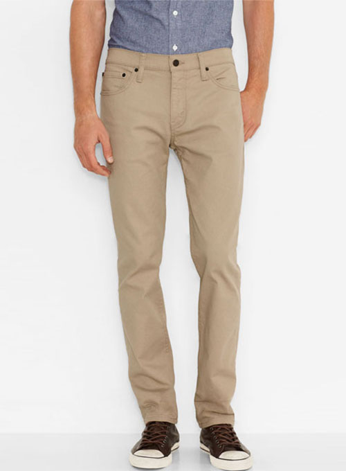 Cotton 5 Pocket Chinos - Jeans Style [Cotton Jeans] - $58