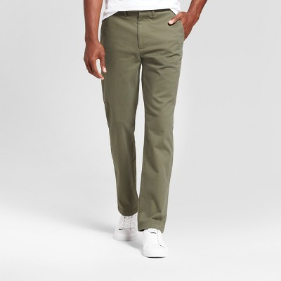 Men's Slim Fit Hennepin Chino Pants - Goodfellow & Co™ Olive : Target