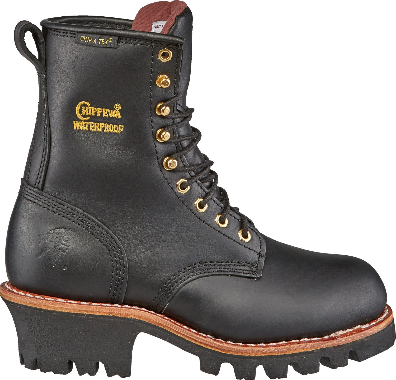 Chippewa Boots® Women's Oiled Steel-Toe Logger Boots | Academy