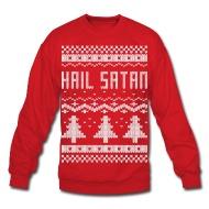 Mr. Lovenstein T-Shirt Kiosk | Ugly Hail Satan Christmas Sweater