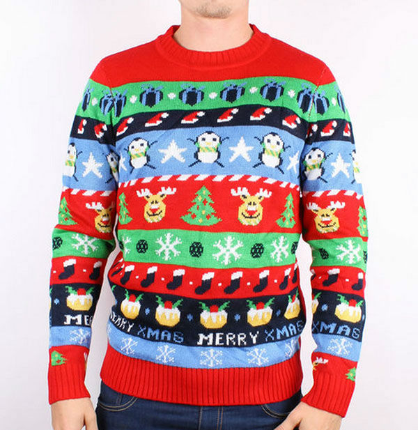 PHOTOS: These awesomely ugly holiday sweaters are the best way to