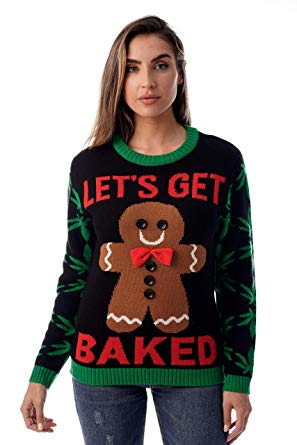 Amazon.com: #followme Womens Ugly Christmas Sweater - Sweaters for