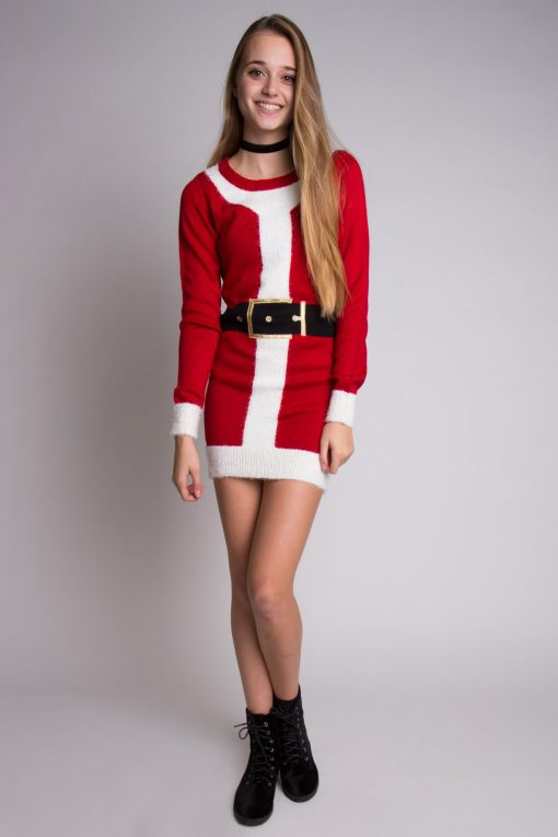 Santa Sweater Dress - Ragstock