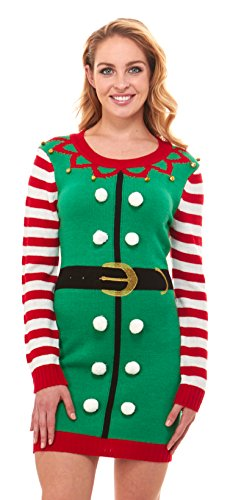 Just One Ugly Christmas Sweater Dress Xmas for Women Cute (Reg and