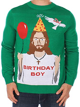 Buy Christmas sweater with   logos and attractive prints