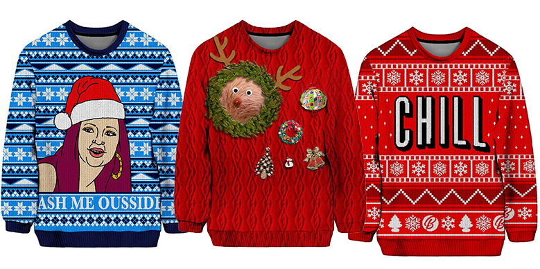 Top 10 Must-Have Ugly Holiday Christmas Sweaters of 2017