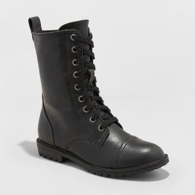 Women's Cassandra Combat Boots - Universal Thread™ : Target