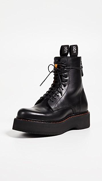 R13 Platform Combat Boots | SHOPBOP