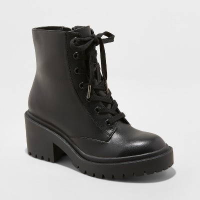 Wear combat boots with various   outfits to look trendy