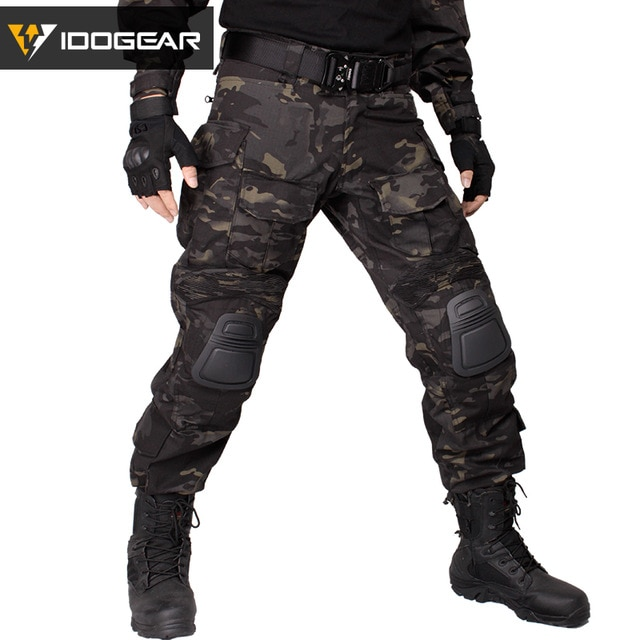 IDOGEAR Gen3 Combat Pants with Knee Pads Airsoft Tactical Trousers