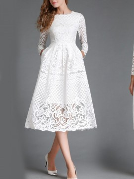 Products tagged with 'white confirmation dresses' | WithChic