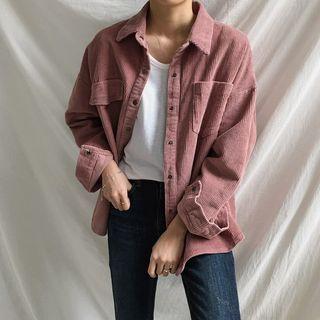 Buy Moon City Boxy Corduroy Jacket | YesStyle