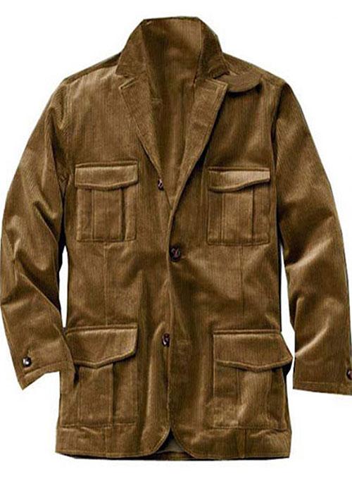 Roman Style Corduroy Jacket [Roman Coat Lined] - $155 : StudioSuits