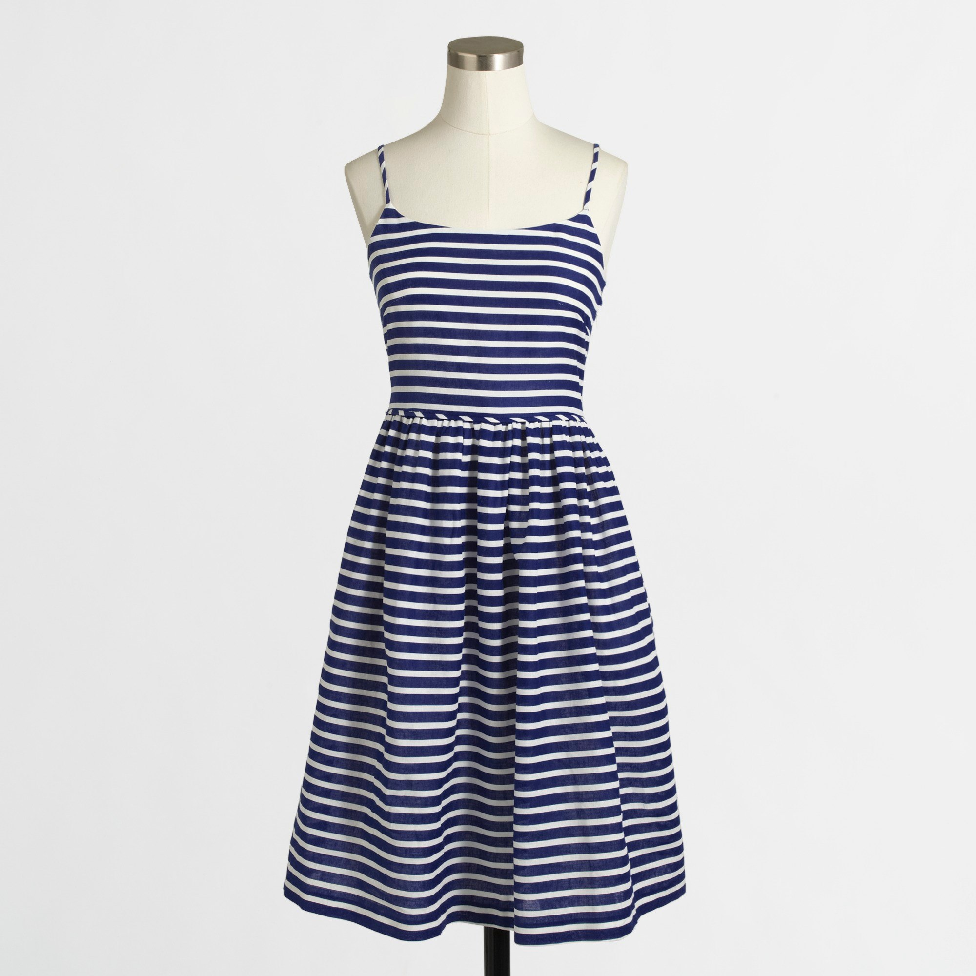 Women's stripe linen-cotton sundress - Women Dresses | J.Crew Factory