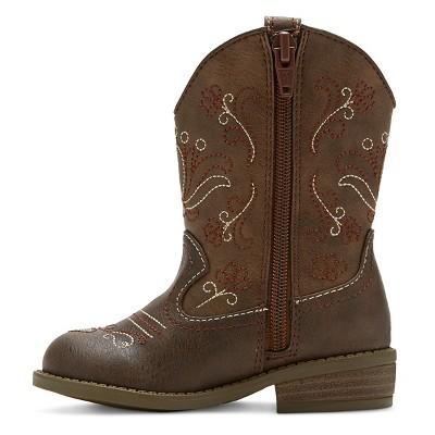 Toddler Girls' Chloe Classic Cowboy Western Boots - Cat & Jack™ : Target