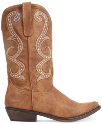 American Rag Dawnn Western Boots, Created for Macy's - Boots - Shoes