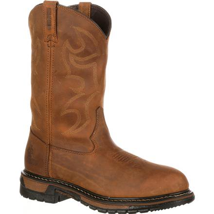 Rocky Original Ride Pull-On Waterproof Western Boot, #2733