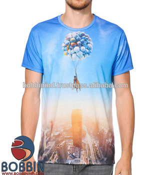 Cheap Sublimation Custom Printed T Shirts,Cheap Full Sublimation T