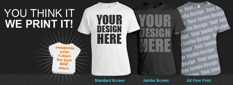 Custom T-shirt Printing - Ehmtic 2014