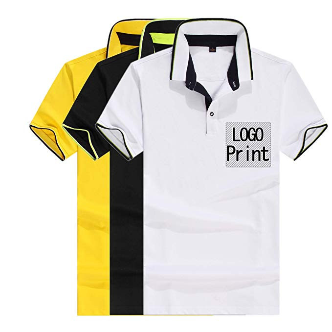 Amazon.com: Personalized Custom Polo Shirt Activity Tee Add Your