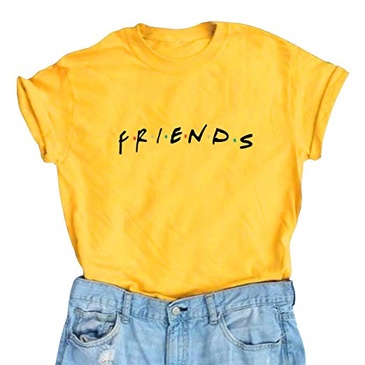 Amazon.com: LOOKFACE Women Friends TV Show Graphic Cute T Shirts