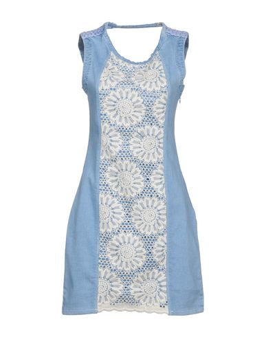 Desigual Denim Dress - Women Desigual Denim Dresses online on YOOX