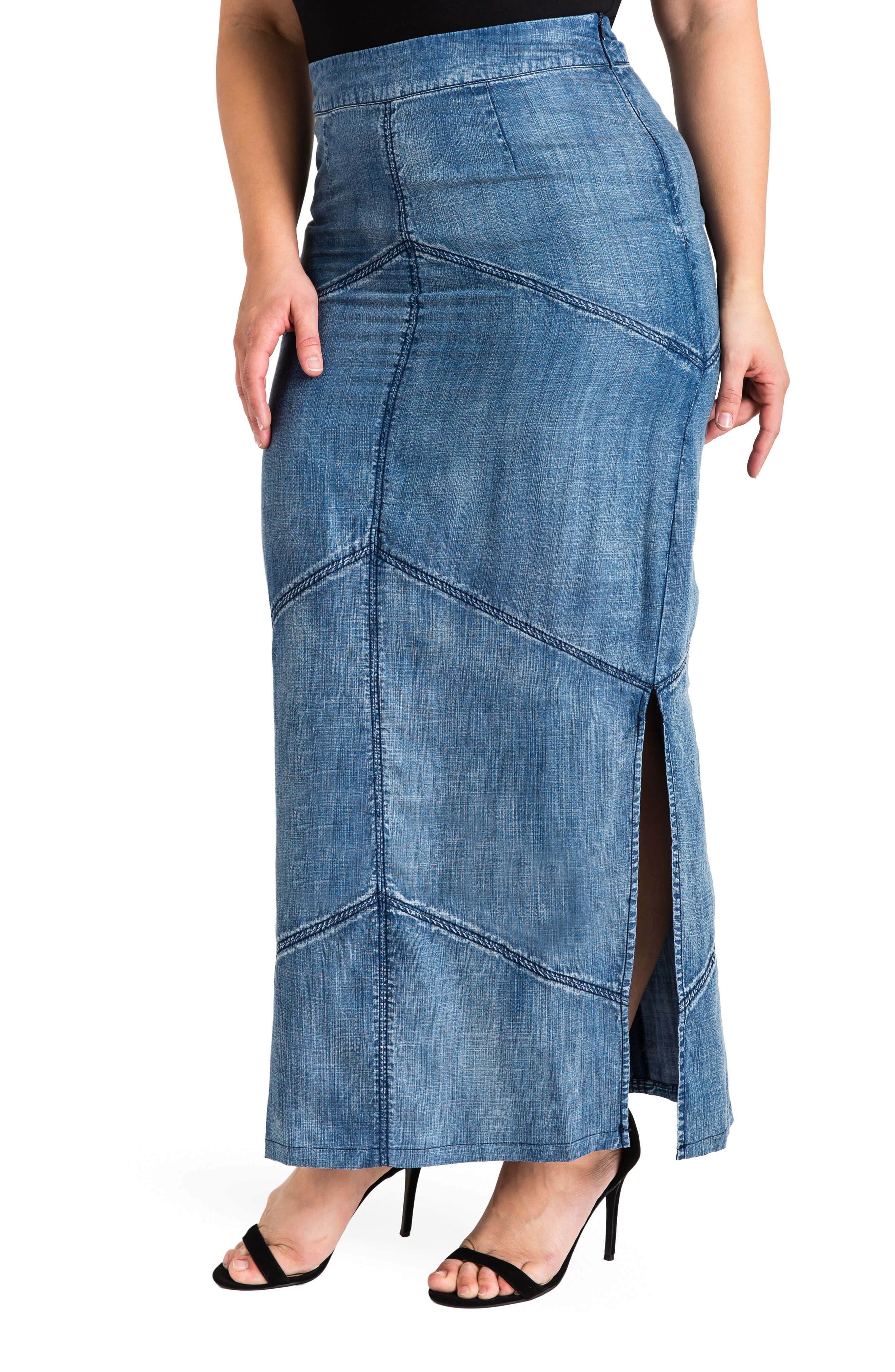 denim pencil skirts | Nordstrom