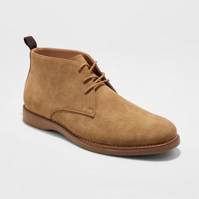 Men's Jay Desert Chukka Boot - Goodfellow & Co™ Tan 10 : Target