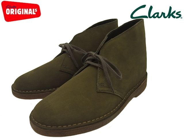 PREMIUM ONE: Clarks desert boots Clarks DESERT BOOT olive suede