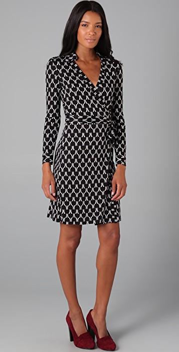 Diane von Furstenberg New Jeanne Wrap Dress | SHOPBOP