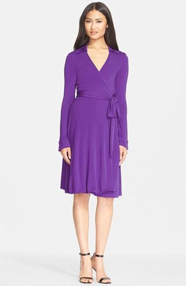 Lyst - Diane von Furstenberg 't72' Wrap Dress in Purple