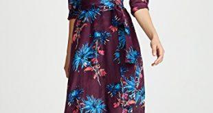 Diane von Furstenberg Floor Length Collared Wrap Dress   SHOPBOP