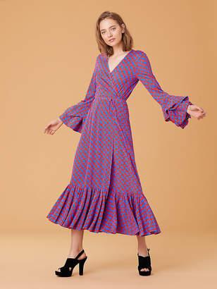 Diane von Furstenberg Purple Dresses - ShopStyle