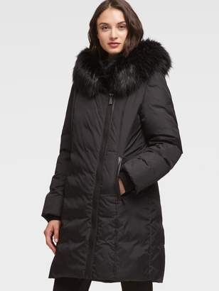DKNY Black Women's Coats on Sale - ShopStyle