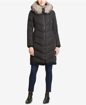 DKNY Black Puffer Coats - ShopStyle