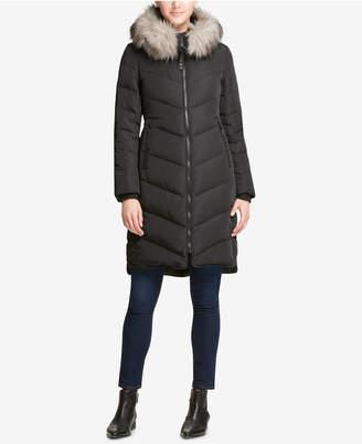 DKNY Black Puffer Coats - ShopStyle