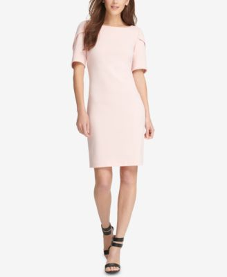 DKNY Puff-Sleeve Sheath Dress, Created for Macy's - Dresses - Women