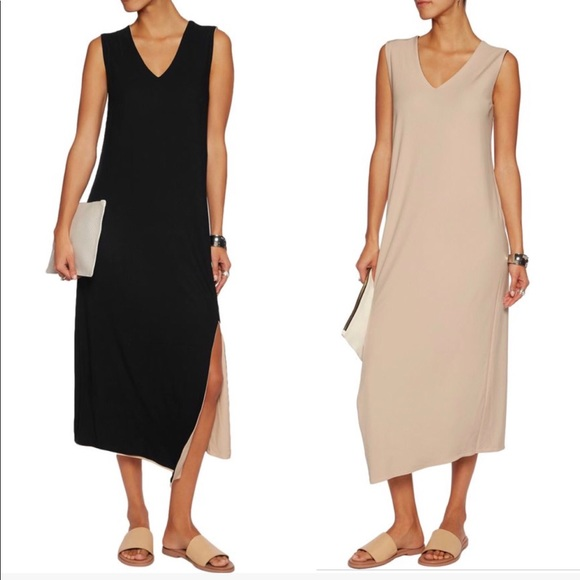Dkny Dresses | Nwt Black And Nude Reversible Dress | Poshmark