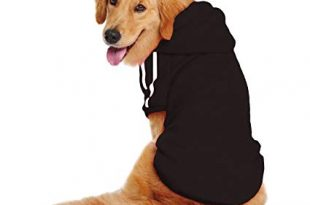 Amazon.com : LESYPET Dog Sweater Hoodie - Big Dog Hoodies Sports
