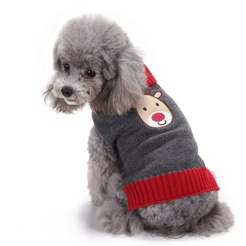 Eco-friendly Christmas Reindeer Dog Jumpers - Buy Dog Jumpers