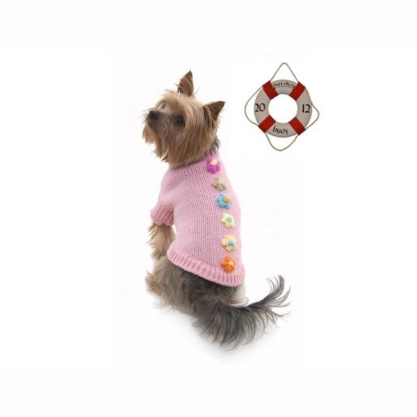 Pink Dog Jumper Pretty Petal   Pet shop buoy's