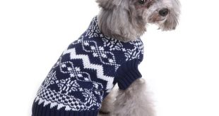pawstrip 7 Patterns Soft Dog Jumpers Coat Warm Dog Sweater Christmas