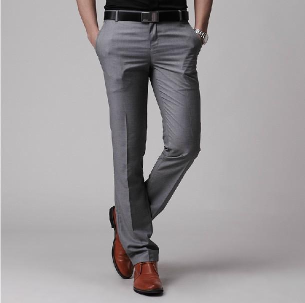 2016 Brand Clothing Men Dress Pants Mens Business Formal Suit Pants