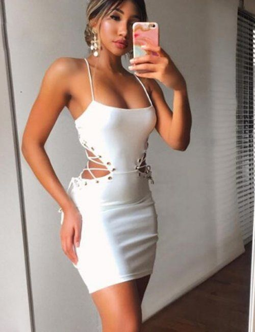 Autumn Bandage Dress | Women's Dresses | Dresses, Bodycon dress